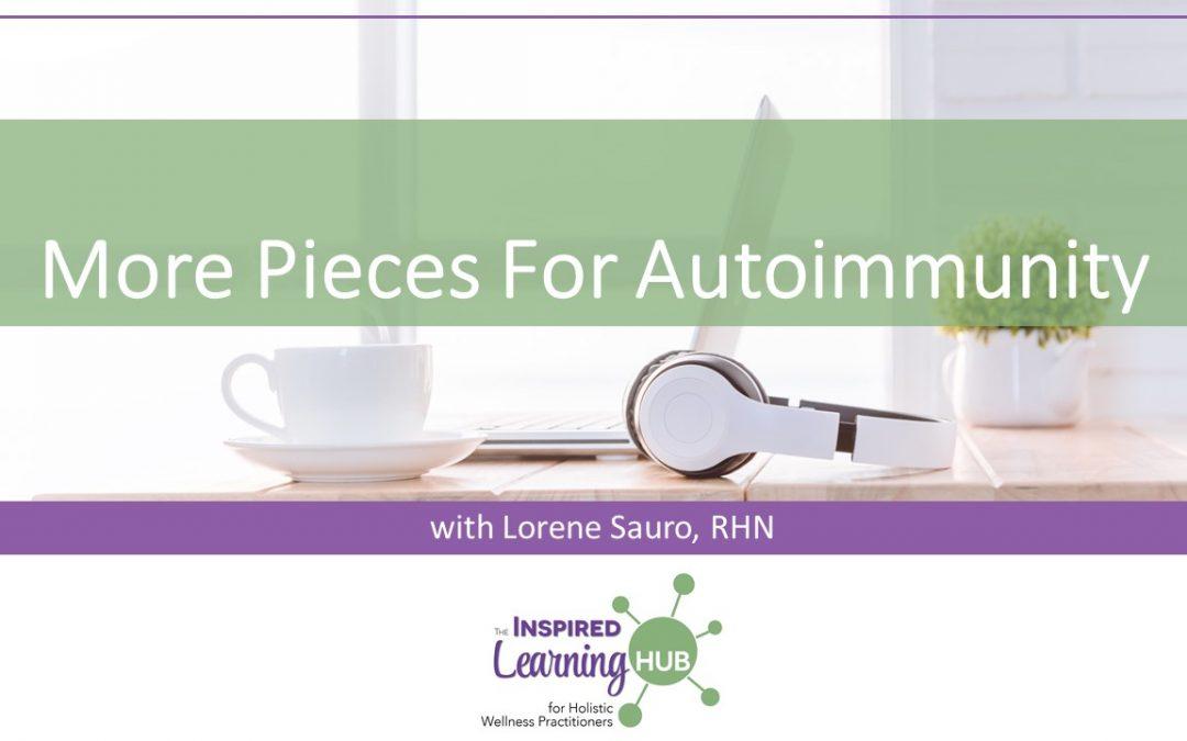 More Pieces For Autoimmunity